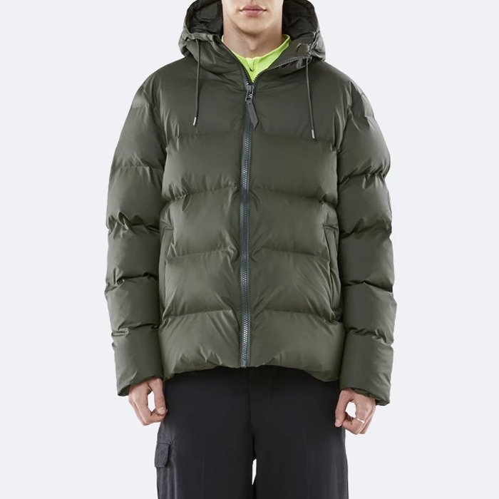 Rains Puffer Jacket 1506 GREEN