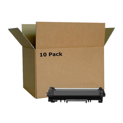 Compatible Brother TN770 Black Toner Cartridge Extra High Yield - No Chip - Economical Box - 10/Pack