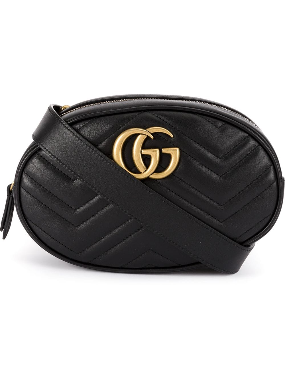 Gg Marmont Small Leather Beltbag
