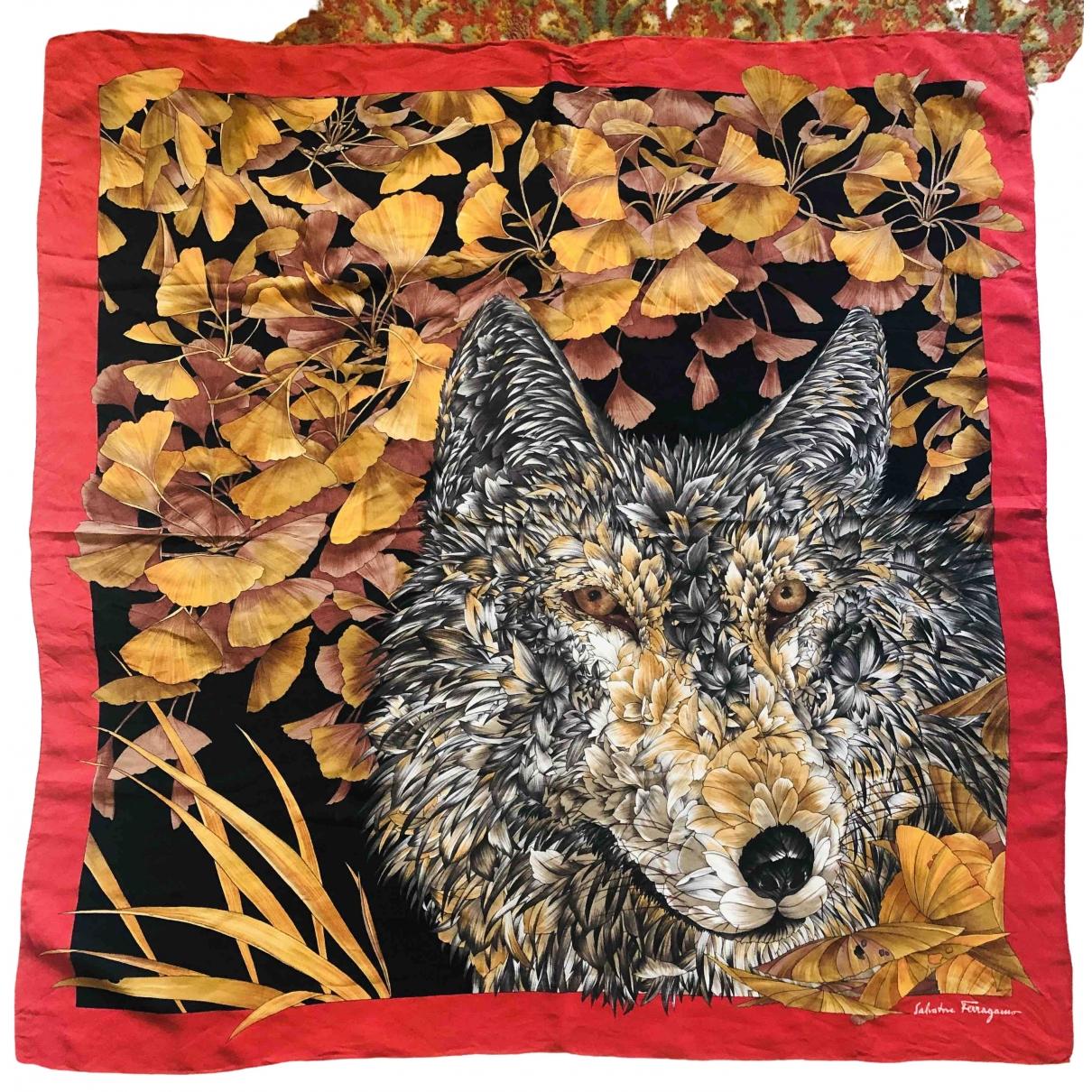 Salvatore Ferragamo \N Multicolour Silk Silk handkerchief for Women \N