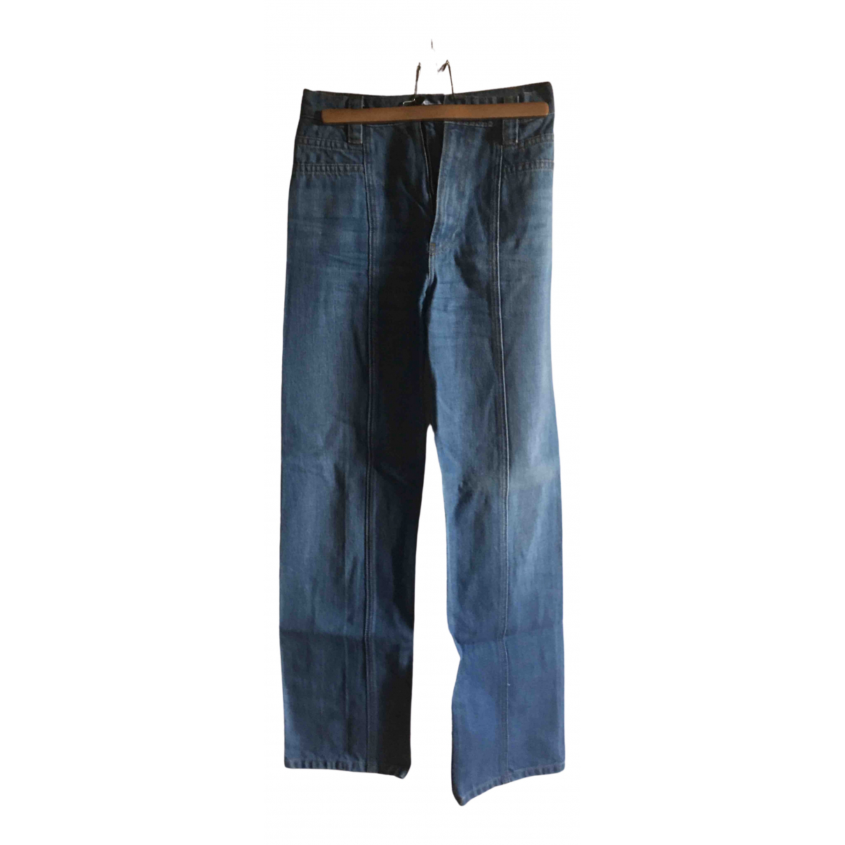 Reformation \N Blue Cotton Jeans for Women 24 US