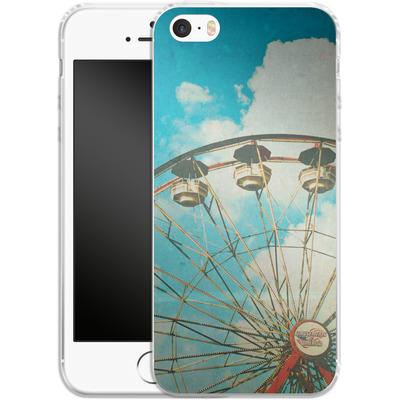 Apple iPhone SE Silikon Handyhuelle - Cofer Family von Joy StClaire