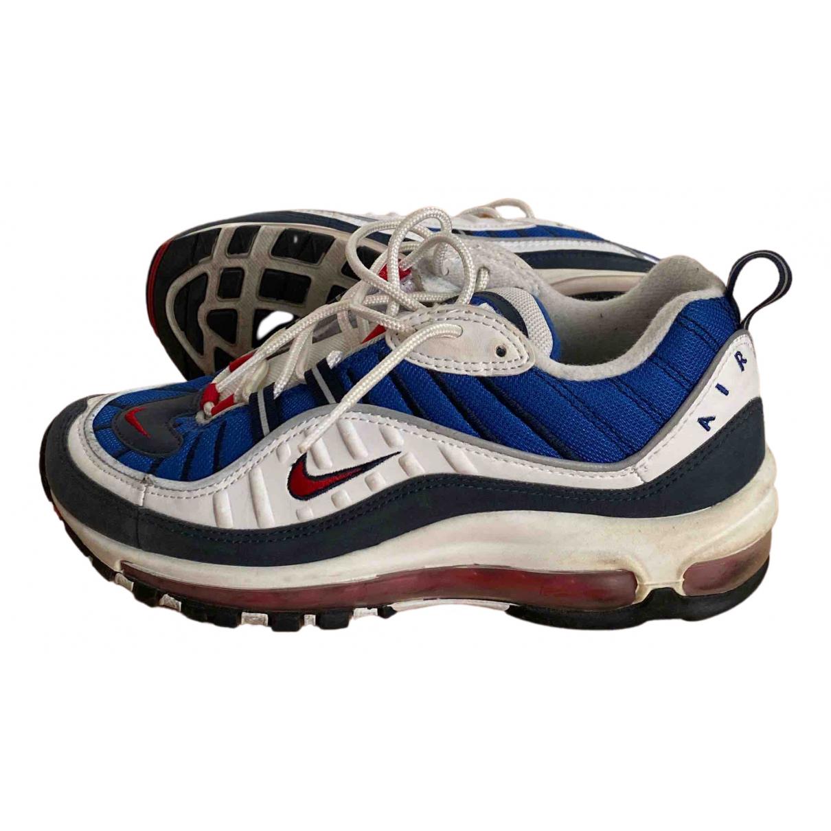 Nike - Baskets Air Max 98 pour femme en caoutchouc - bleu