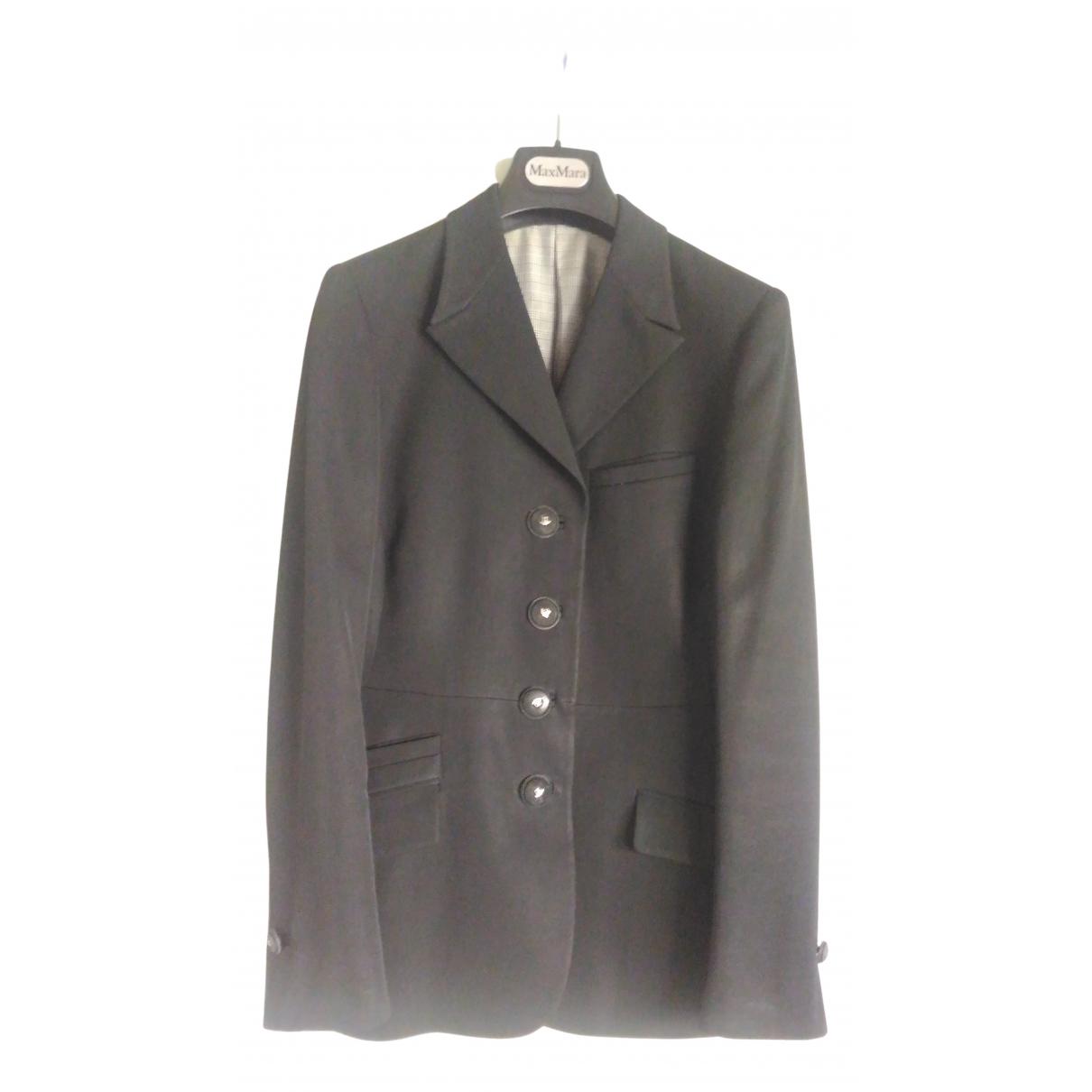 Gianni Versace - Veste   pour femme - noir