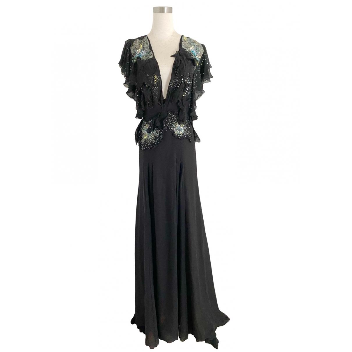 Maxi vestido de Seda Gucci