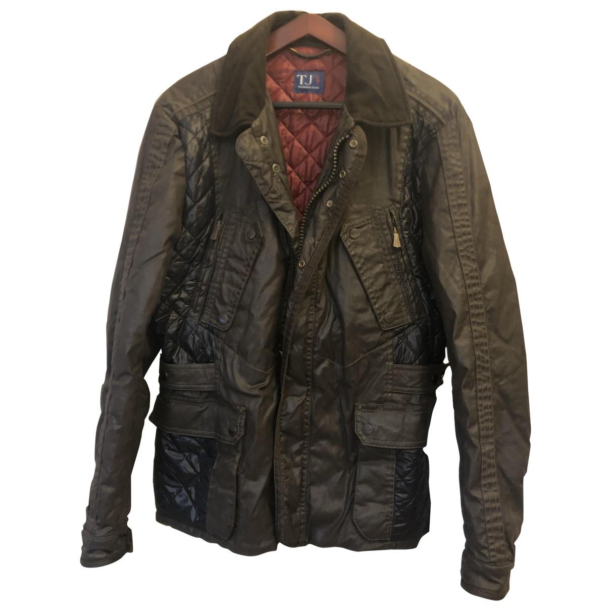 Trussardi Jeans \N Brown coat  for Men 50 IT