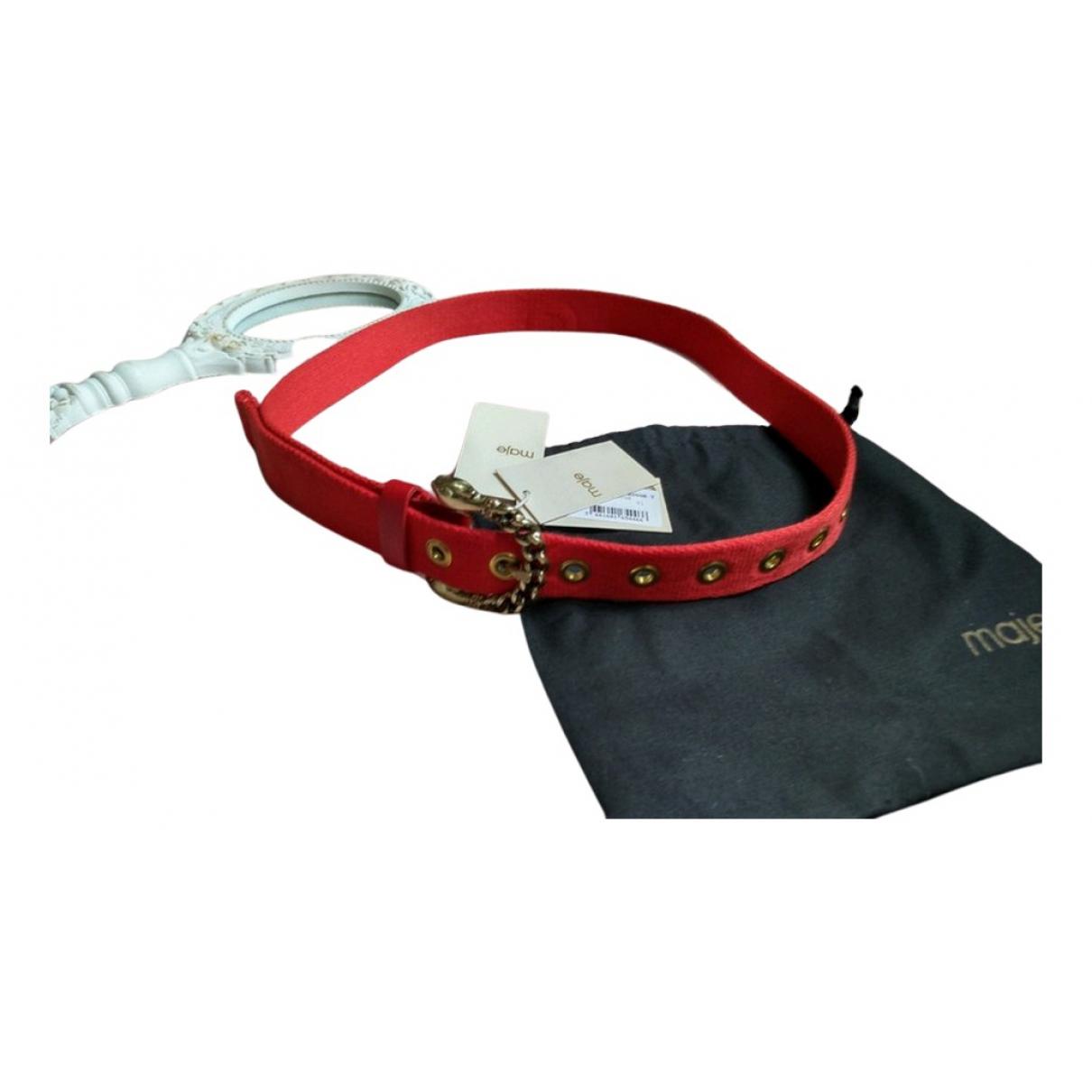 Cinturon de Lona Maje