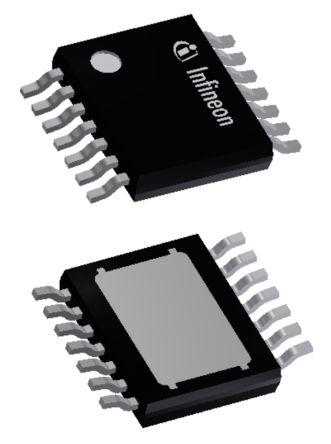 Infineon BTS70041EPPXUMA1, 1 Power Switch IC, High Side 14-Pin, TSDSO (3000)