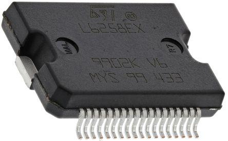 STMicroelectronics E-L6258EX, Stepper Motor Driver IC, 40 V 1.5A 36-Pin, PowerSO