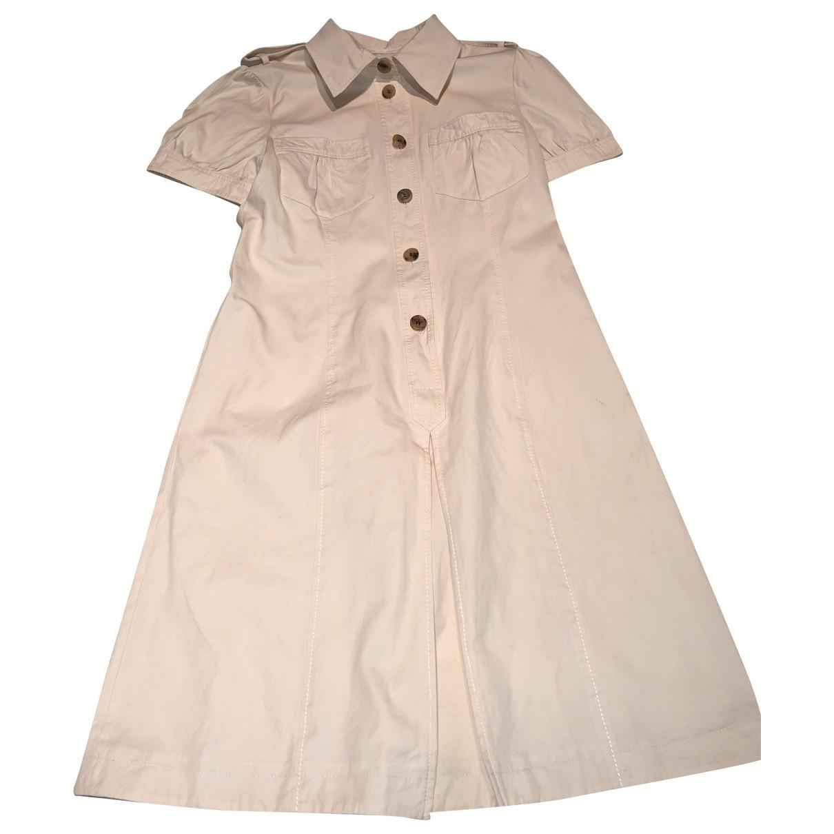 Valentino Garavani \N Beige dress for Women 12 UK