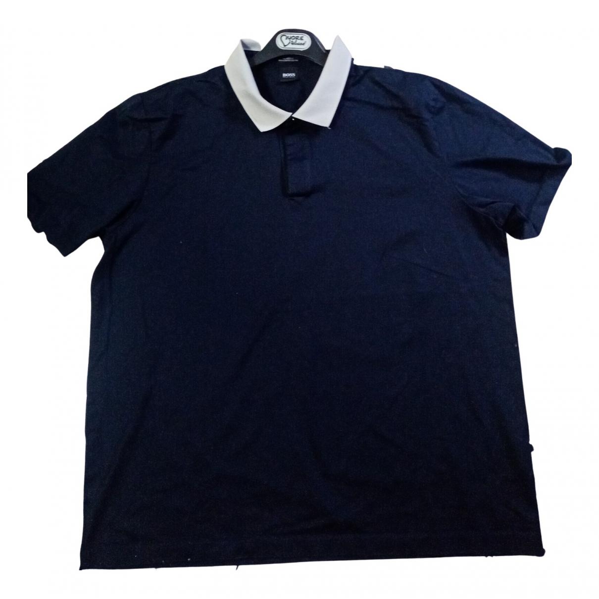 Boss N Blue Cotton Polo shirts for Men XXL International
