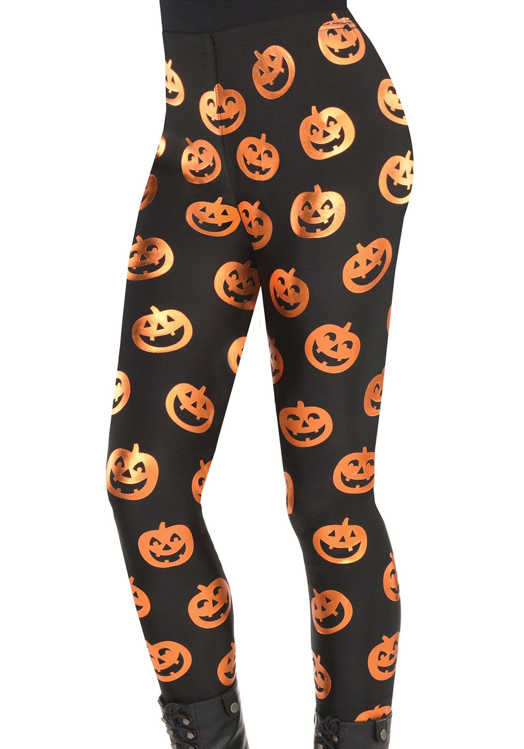 Adult Pumpkin Leggings
