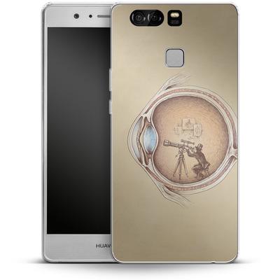 Huawei P9 Silikon Handyhuelle - Extraordinary Observer von Enkel Dika