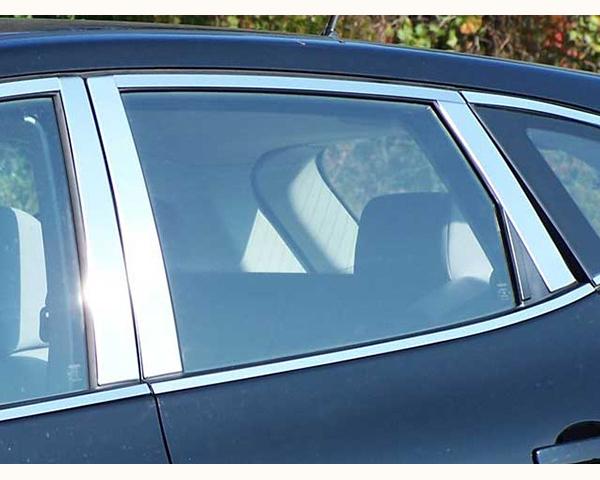 Quality Automotive Accessories 6-Piece Pillar Post Trim Kit Nissan Rogue 2013