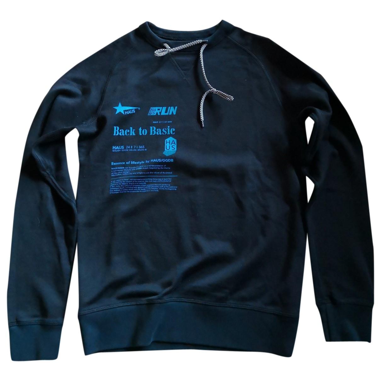 Golden Goose \N Pullover.Westen.Sweatshirts  in  Schwarz Baumwolle