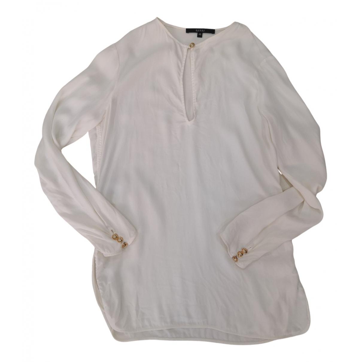 Gucci N White Silk  top for Women 40 FR