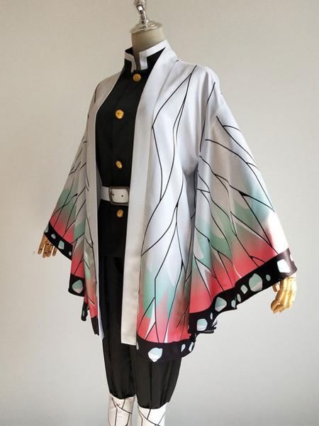 Milanoo Kochou Shinobu Cosplay Costume Demon Slayer: Kimetsu No Yaiba Cosplay Uniform