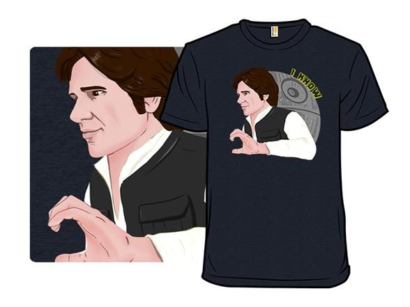 Star Love: I Know T Shirt