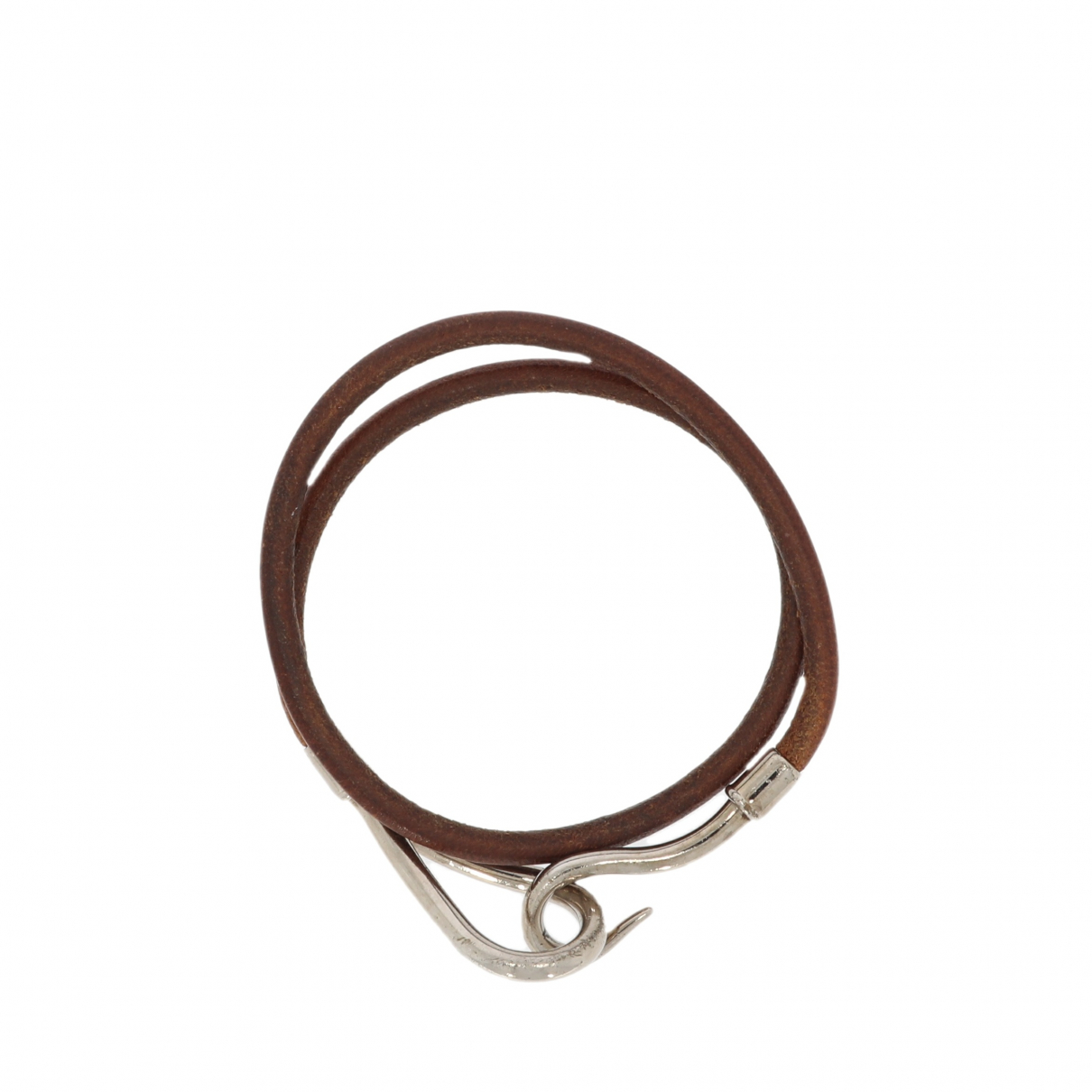 Hermès Jumbo Brown Leather bracelet for Women \N