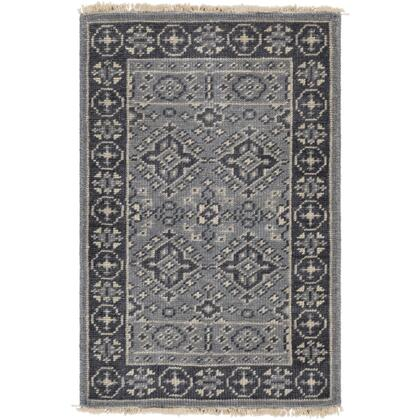 Cappadocia CPP-5012 2' x 3' Rectangle Traditional Rug in Denim  Ink  Pale