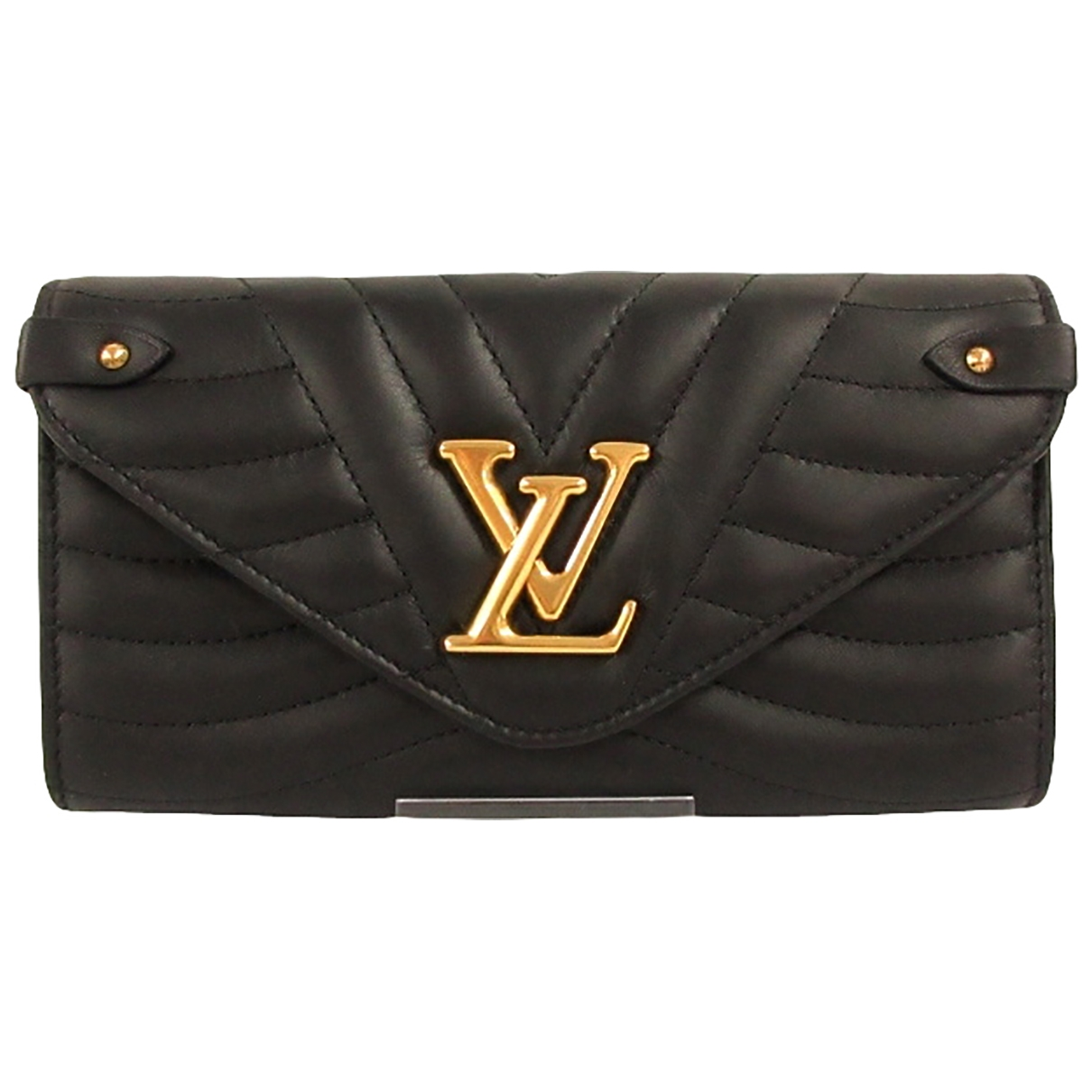 Cartera NewWave de Cuero Louis Vuitton
