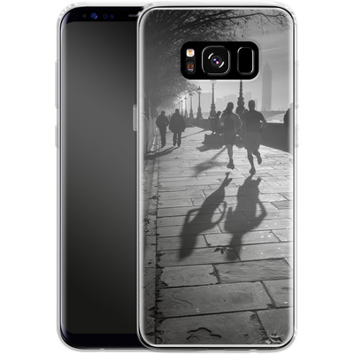 Samsung Galaxy S8 Silikon Handyhuelle - Walk If You Must von Ronya Galka