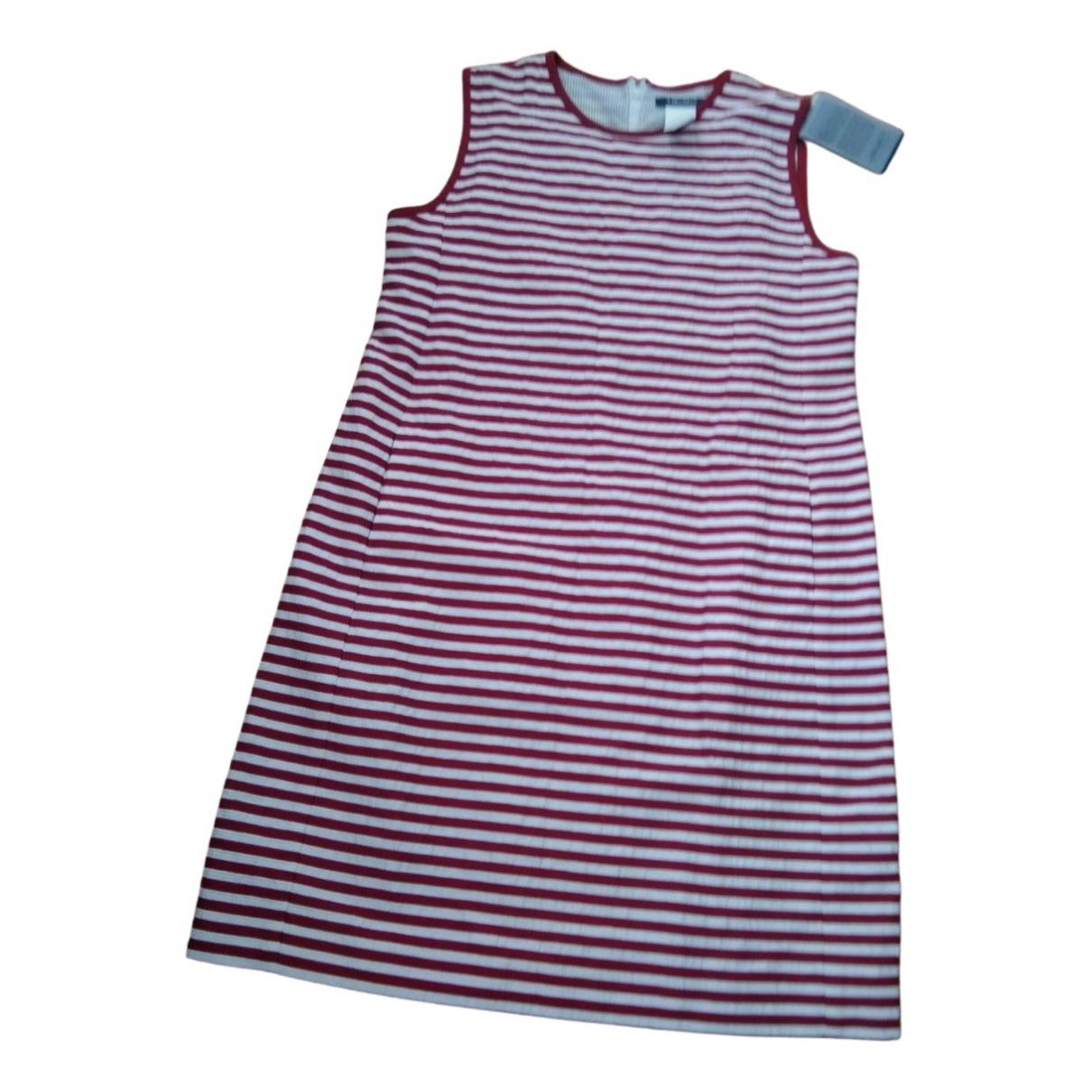 Max Mara s \N Kleid in  Rot Baumwolle