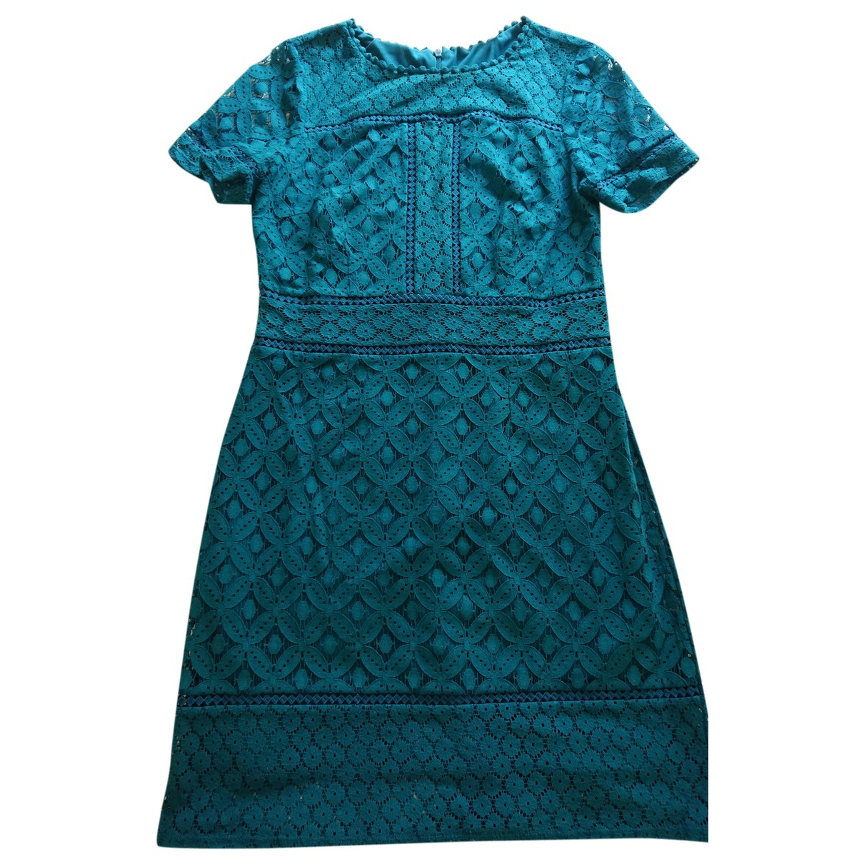 Non Signé / Unsigned \N Blue Lace dress for Women 10 UK