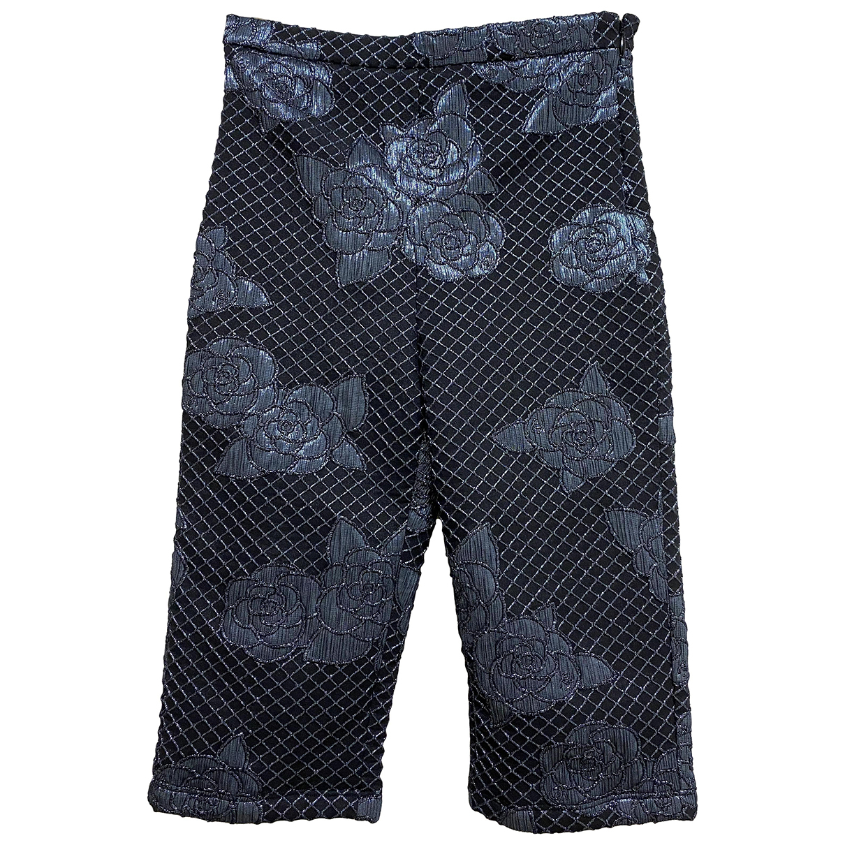 Chanel \N Shorts in  Marine Polyester