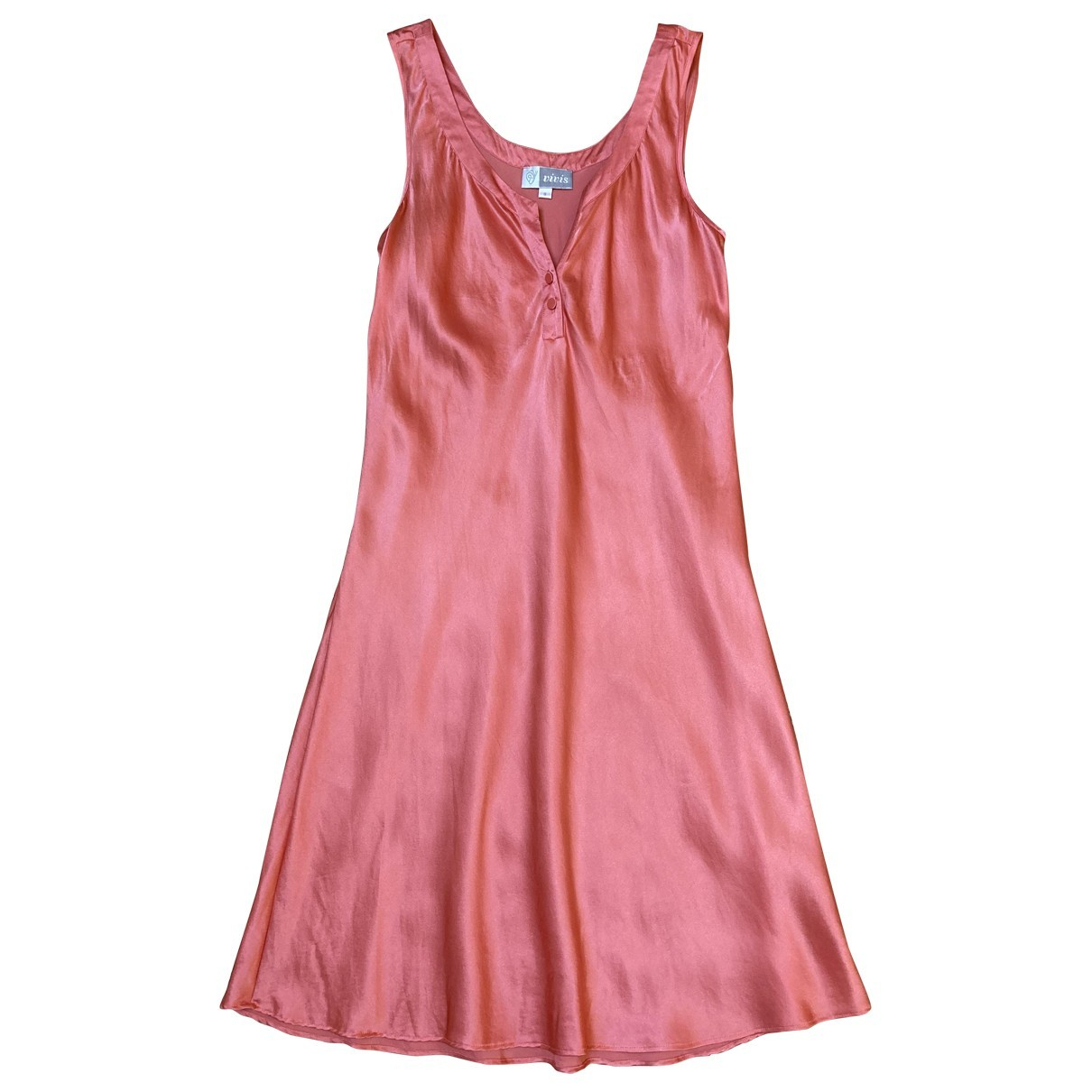 Non Signé / Unsigned \N Pink Silk dress for Women S