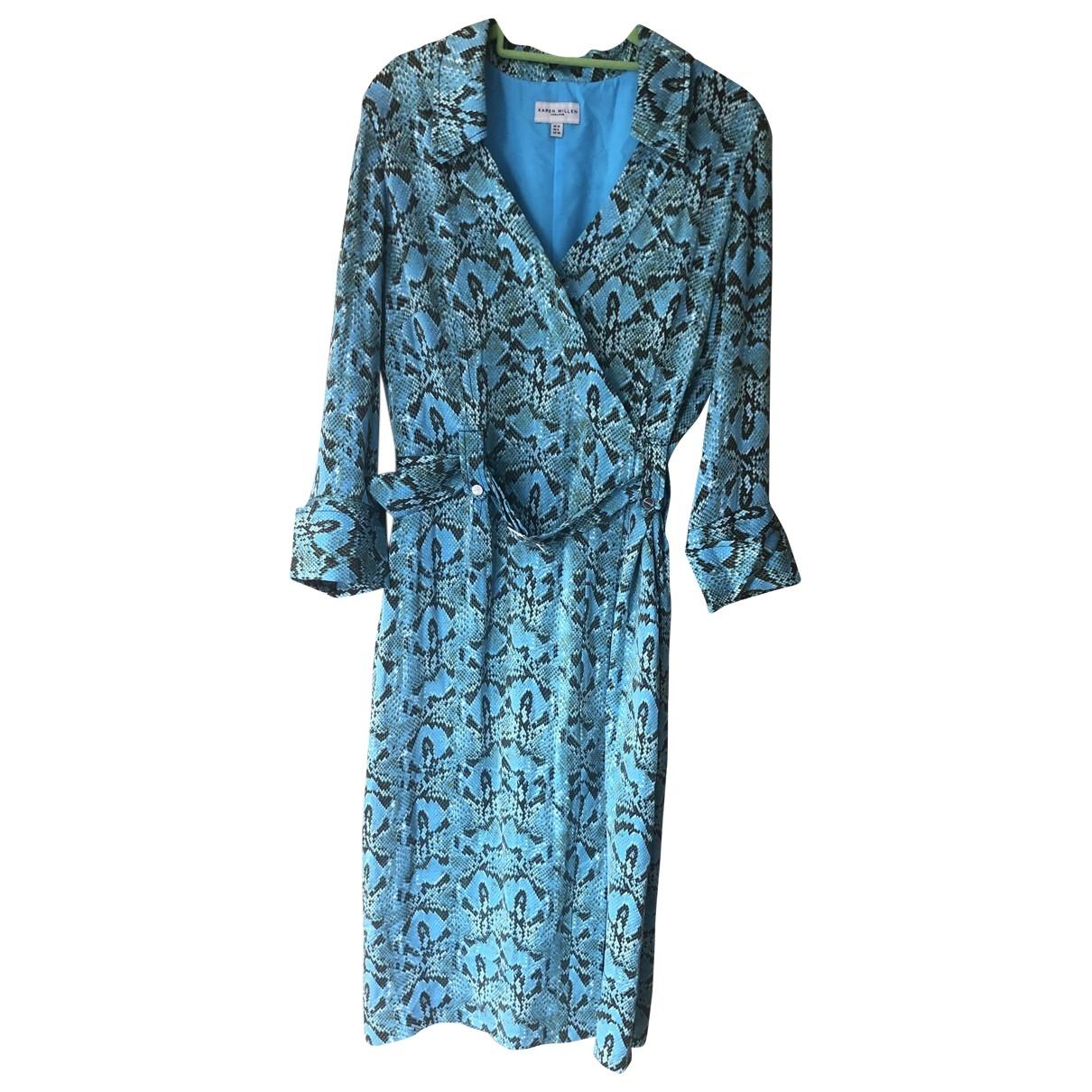 Karen Millen \N Kleid in  Bunt Seide
