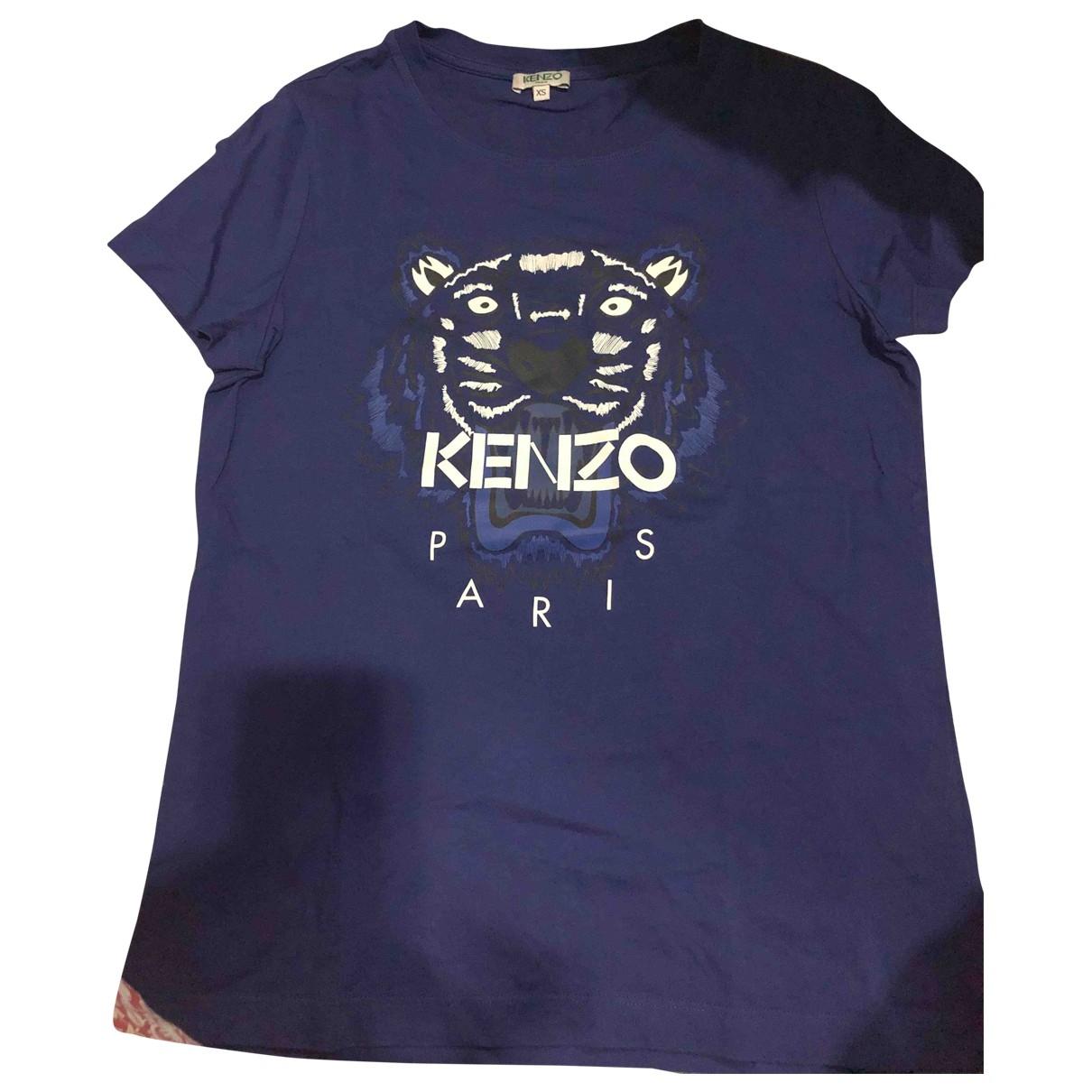 Kenzo \N Pullover in  Blau Baumwolle