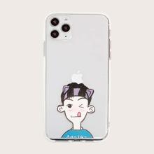 iPhone Schutzhuelle mit Junge Muster