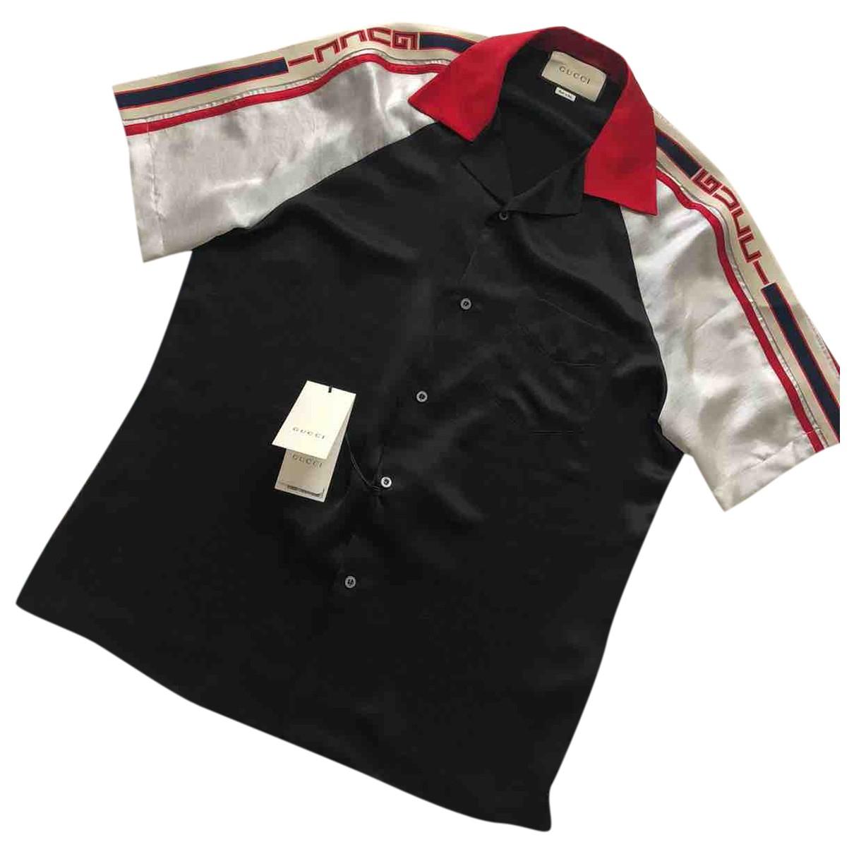 Gucci \N Hemden in  Schwarz Baumwolle