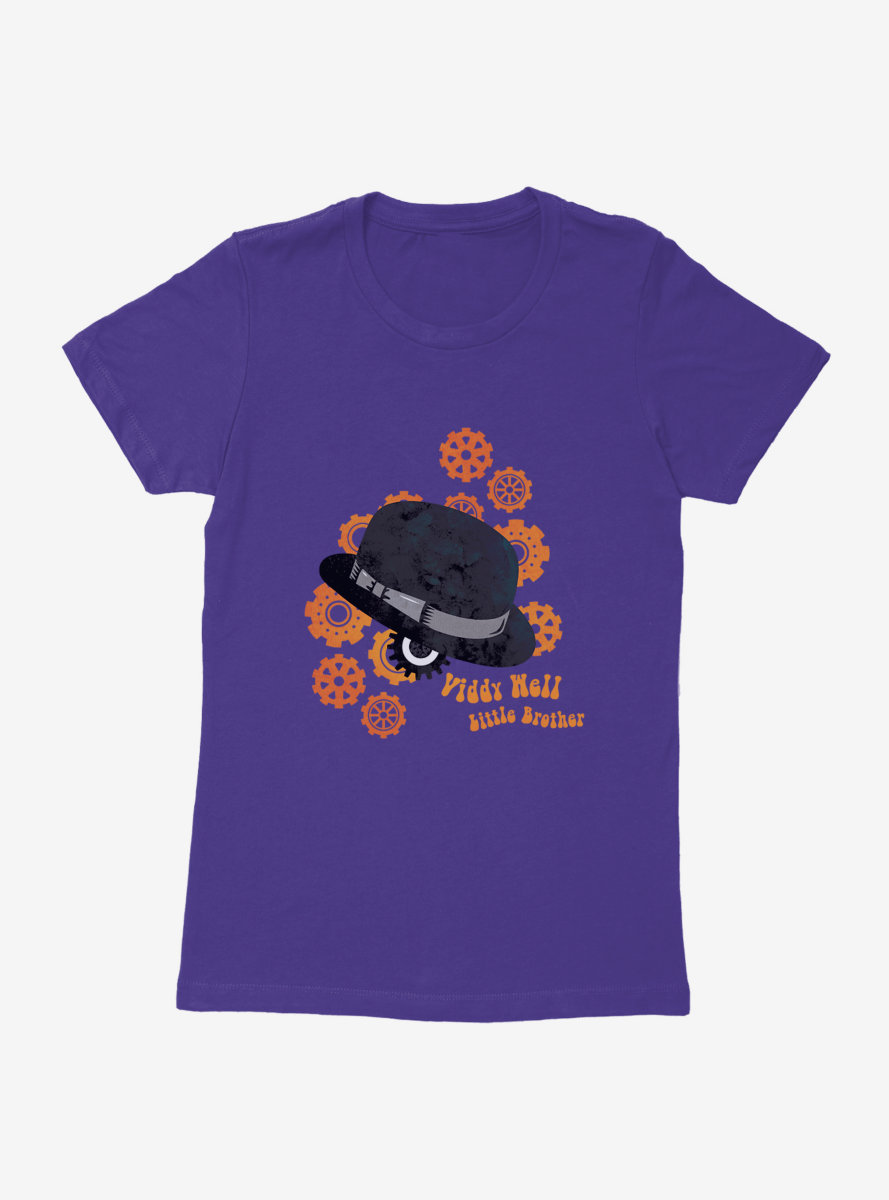 A Clockwork Orange Viddy Well Little Brother Womens T-Shirt