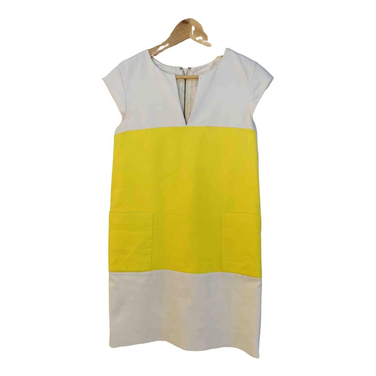 Kate Spade \N Kleid in  Gelb Baumwolle