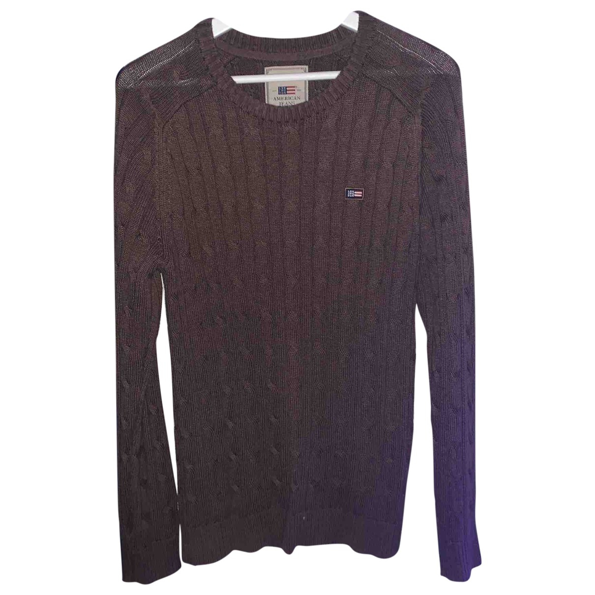 Non Signé / Unsigned \N Brown Cotton Knitwear & Sweatshirts for Men S International