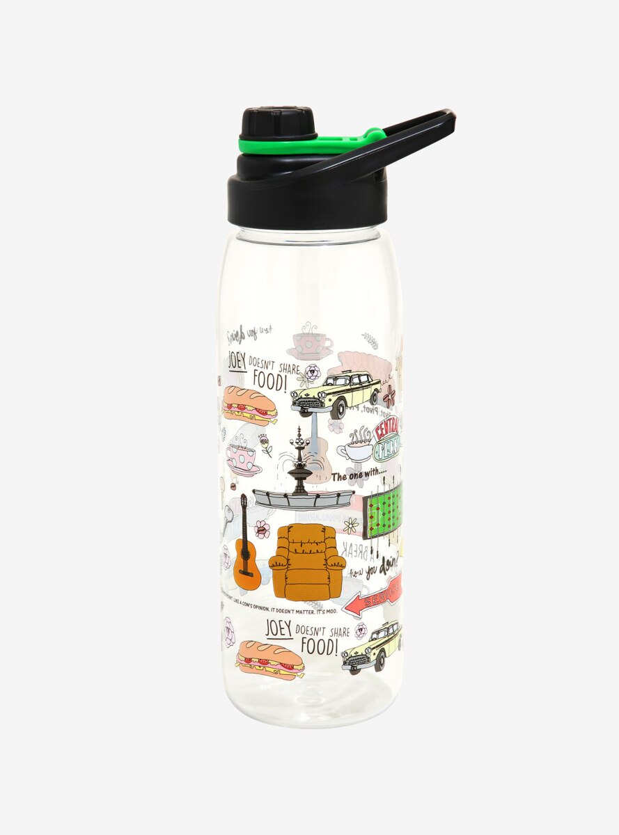 Friends Icons Water Bottle