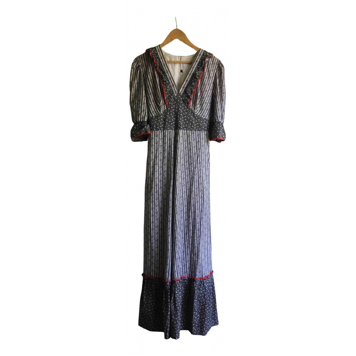 Non Signé / Unsigned Hippie Chic Cotton dress for Women M International