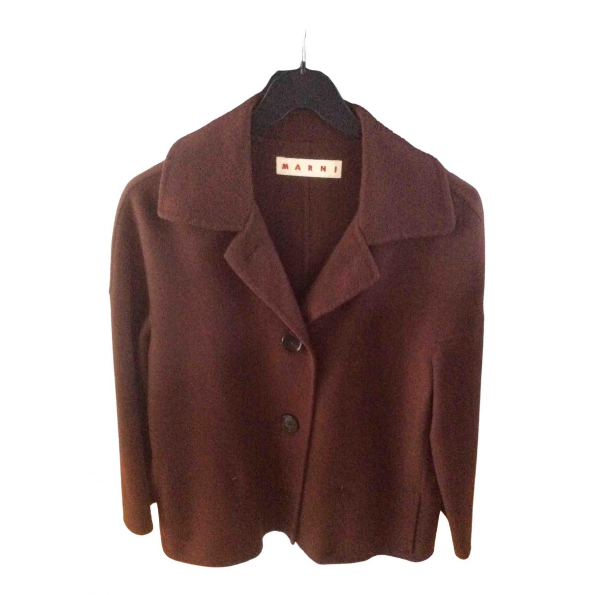 Marni - Veste   pour femme en laine - marron