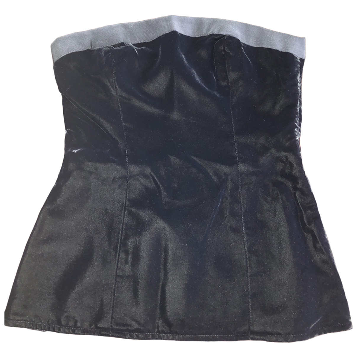 Yves Saint Laurent \N Black Velvet  top for Women 36 FR