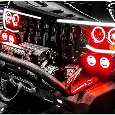 Oracle Lighting Vector Grille LED Halo Kit (Red) - 5835-003