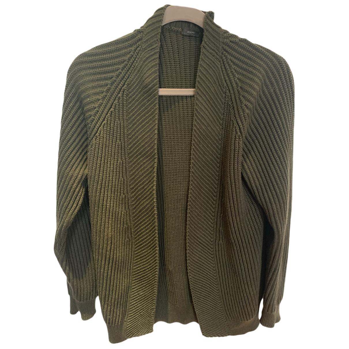 Joseph - Pull   pour femme en laine - vert