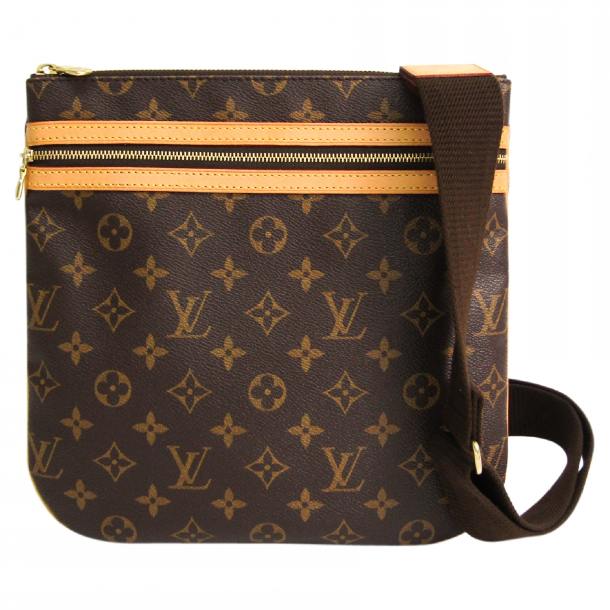 Louis Vuitton Bosphore Brown Cloth handbag for Women \N