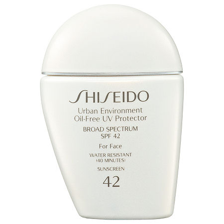 Shiseido Urban Environment Oil-Free UV Protector Broad Spectrum SPF 42 For Face, One Size , No Color Family