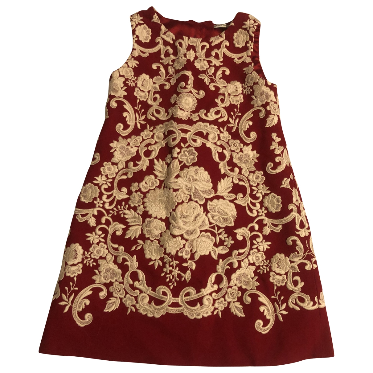 Dolce & Gabbana - Robe    pour enfant en coton - rouge