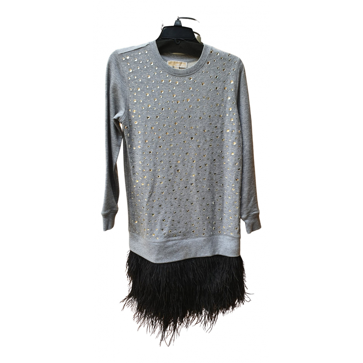 Michael Kors \N Kleid in  Grau Baumwolle