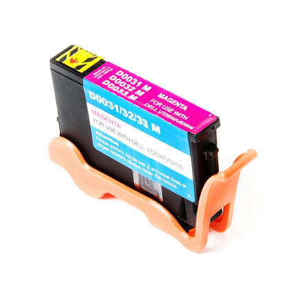Compatible Dell V725w All-In-One Ink Dell Series 33 34 331-7379 T9FKK Magenta Extra High Yield