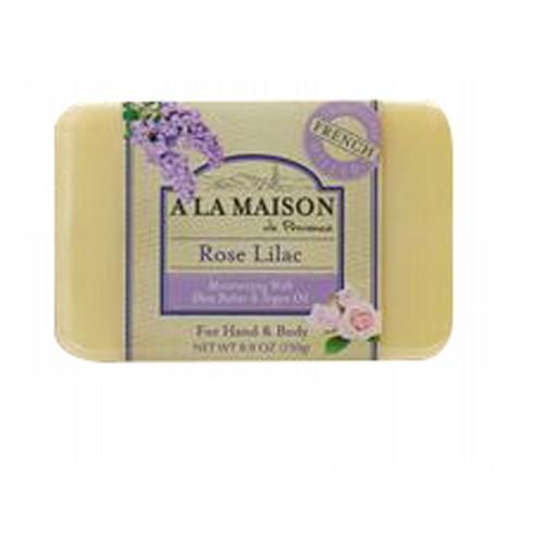 Bar Soap Rose Lilac 8.8 Oz by A La Maison