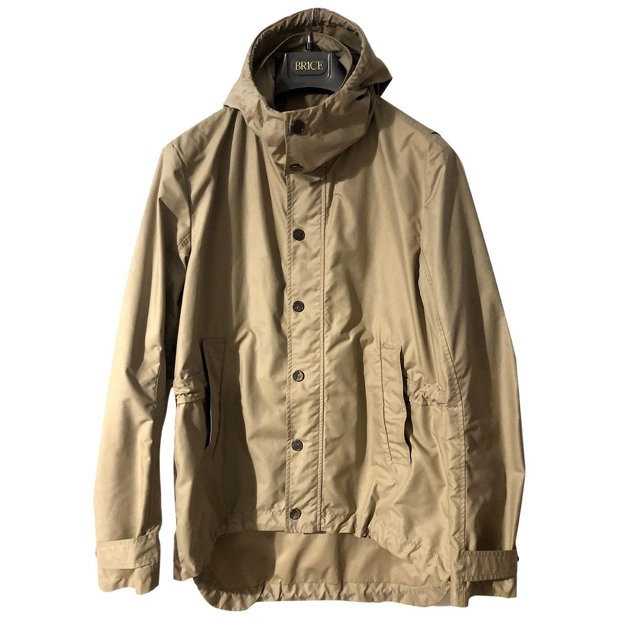Versace - Manteau   pour homme - beige